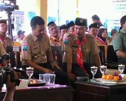 Kunjungan Bupati Jombang Lounching SID di Desa Pulosari