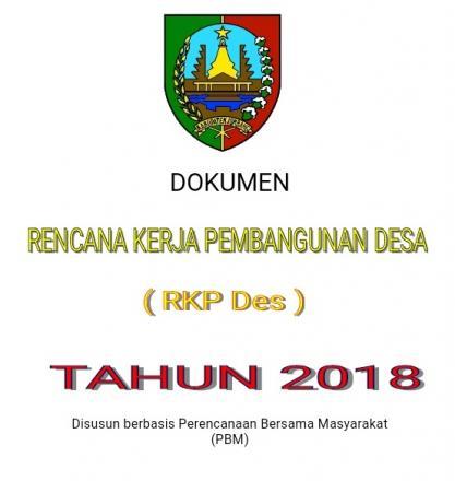 RKPDes TAHUN 2018 DESA PULOSARI