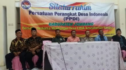 SILATURROHMI PERSATUAN PERANGKAT DESA INDONESIA KABUPATEN JOMBANG