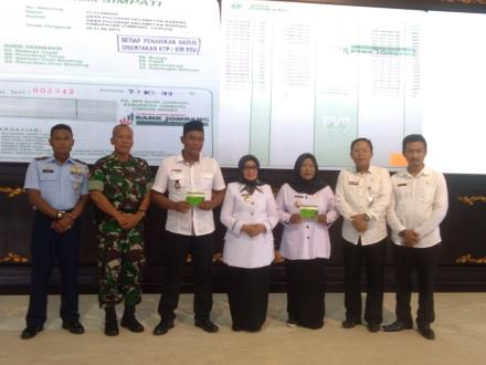 DPMD Jombang Launching Pencairan APBDes 2020